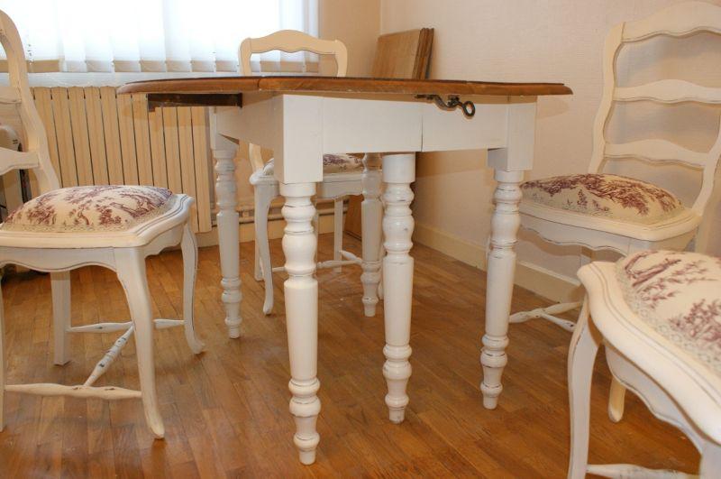 Nos vieux meubles r nov s relook s et patin s mes for Patiner une table en chene
